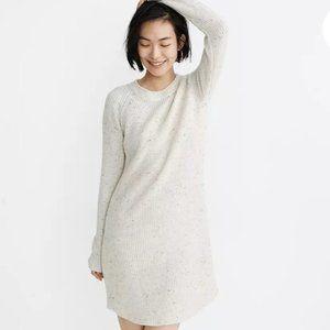 Madewell Wool Alpaca Blend Sweater Dress Large